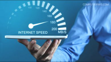 Measurement of data download speed